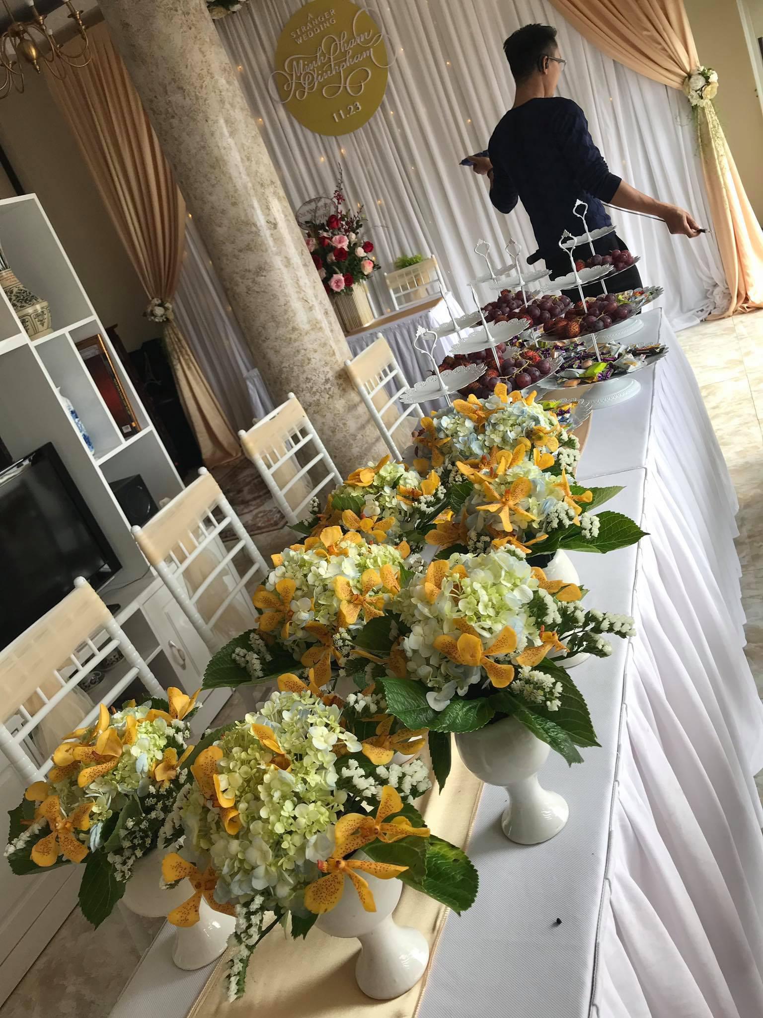 Con trai cơ phó vừa hủy hôn, con gái nghệ sĩ Hương Dung bất ngờ lên xe hoa, nhìn nhan sắc cô dâu ai cũng ngỡ ngàng-7