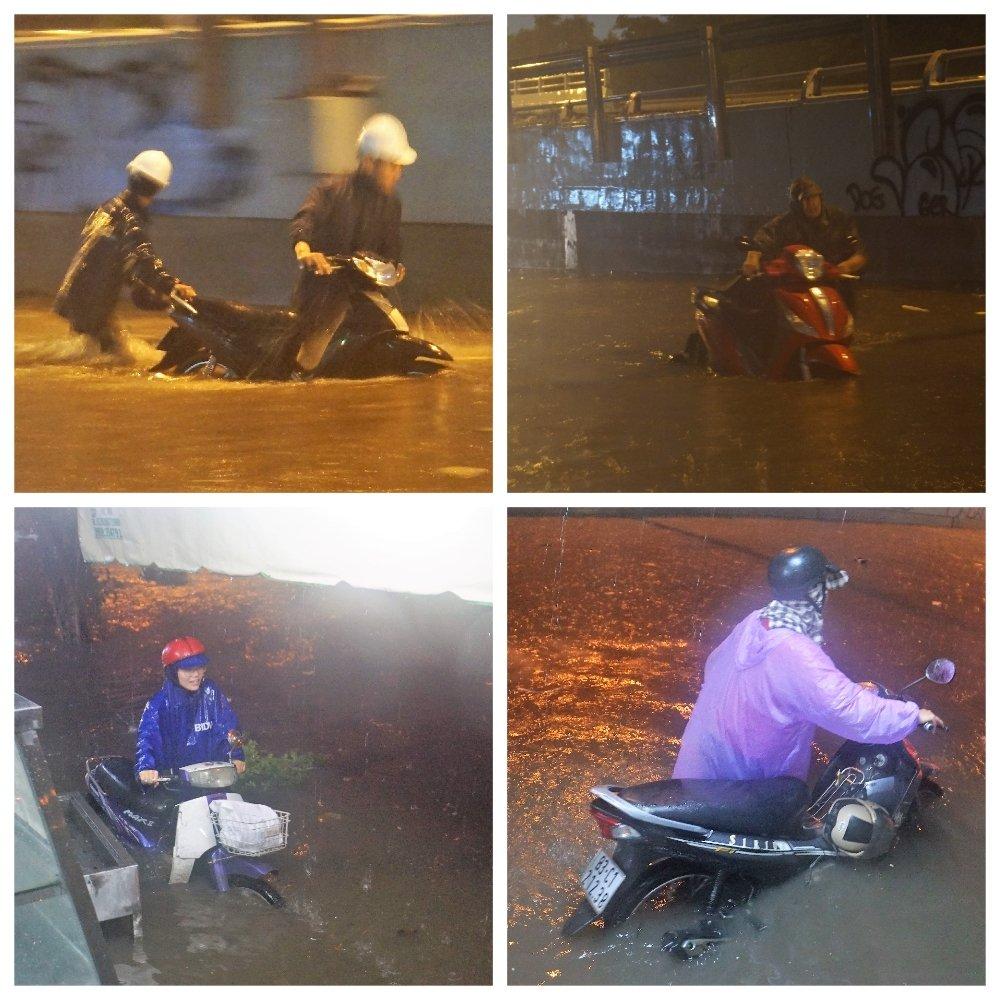 Bão số 9: Người Sài Gòn quay cuồng chống ngập suốt đêm-4