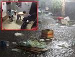 Sáng thứ 2 kẹt xe, ngập nước, xe chết máy nằm la liệt, người Sài Gòn khốn khổ sau bão số 9-24