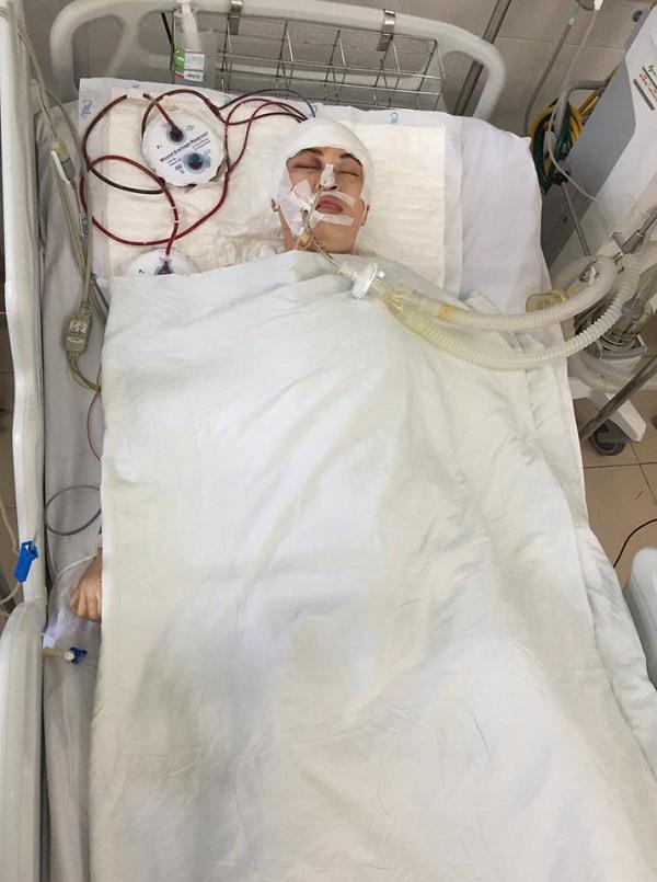 Bị tai nạn chấn thương sọ não nằm viện cả tháng, cô gái tên Vô Danh chưa ai đến nhận-1