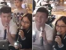 Lần đầu song ca cùng bạn gái, Quang Hải dễ dàng được tha thứ nhờ tài chơi bóng giỏi đổi lại giọng hát