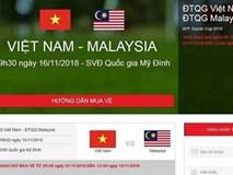 Cách mua vé online xem bán kết lượt về ĐT Việt Nam vs Philippines