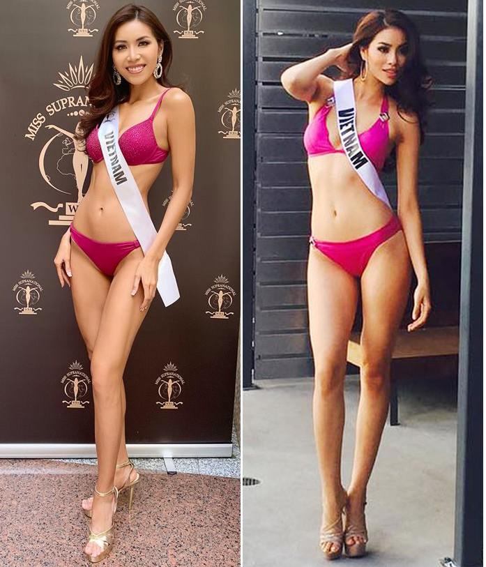 Nhìn Minh Tú diện bikini khoe dáng lại khiến chúng ta nhớ đến hình ảnh của Phạm Hương thuở nào-2