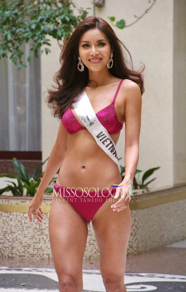 Nhìn Minh Tú diện bikini khoe dáng lại khiến chúng ta nhớ đến hình ảnh của Phạm Hương thuở nào-3