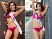 Nhìn Minh Tú diện bikini khoe dáng lại khiến chúng ta nhớ đến hình ảnh của Phạm Hương thuở nào