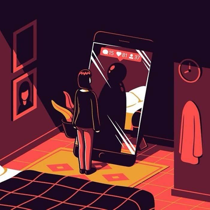 Loạt tranh về mặt trái đáng sợ của cuộc sống hiện đại-2