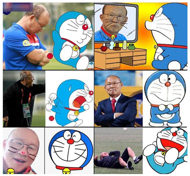 HLV Park Hang Seo và những ảnh chế hài hước của cư dân mạng-3