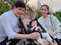 Người hâm mộ HH Đặng Thu Thảo cuối cùng cũng được thỏa lòng ngắm cả gia đình thần tiên tỉ tỉ trong một khung hình