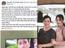 Anti-fan phản đối Lưu Đê Li lên truyền hình, nghệ sĩ Chiều Xuân lên tiếng bênh vực rồi lại bất ngờ xin lỗi dân mạng
