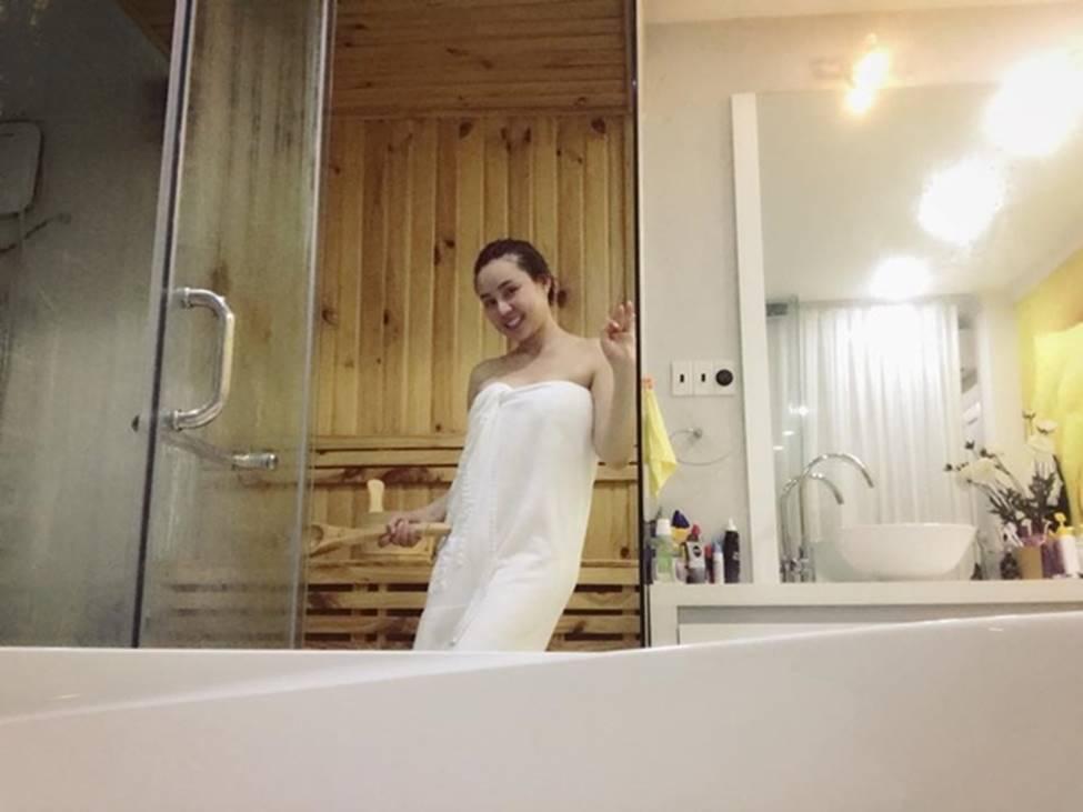 Người đẹp Phan Thiết từng đi bưng bê, rửa chén đến bà hoàng làm vợ đại gia, ở biệt thự 40 tỷ-17