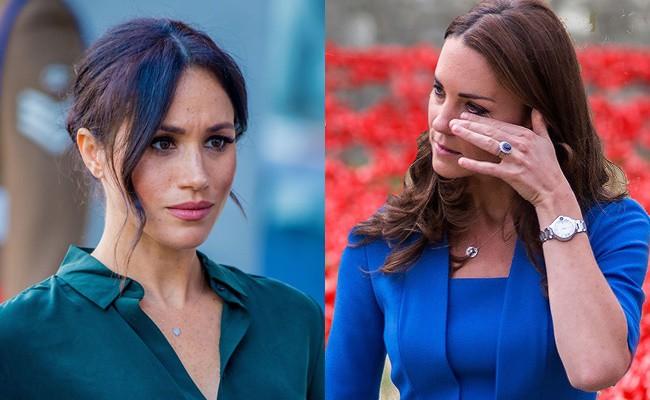 Người hâm mộ choáng váng trước tin Meghan từng khiến Công nương Kate bật khóc nức nở vì hành động này-2