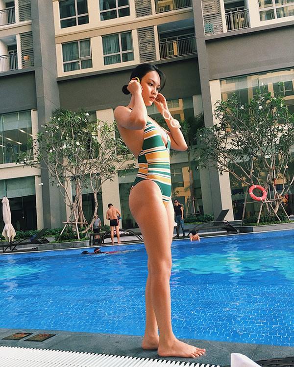 Con gái diễn viên chuyên đóng cảnh nóng Kiều Trinh ngày càng sexy-12