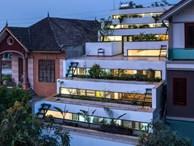 Cận cảnh ngôi nhà có ruộng bậc thang ngay mặt tiền đạt nhiều giải thưởng kiến trúc lớn ở Hà Tĩnh
