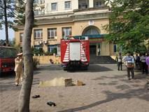 Xe máy và xe cứu hoả va chạm nhau, một người tử vong tại chỗ
