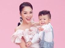 Dương Cẩm Lynh khoe vẻ đẹp mặn mà bên con trai kháu khỉnh