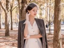 Rò rỉ hình ảnh cưới hiếm hoi chụp tại Pháp cùng chiếc váy cưới 10 nghìn hạt ngọc trai của Á hậu Thanh Tú và chồng U40