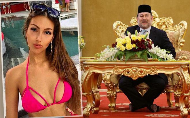 Nhan sắc nóng bỏng của Hoa hậu vừa được nhà vua Malaysia cưới làm hoàng hậu-1