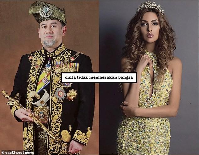 Nhan sắc nóng bỏng của Hoa hậu vừa được nhà vua Malaysia cưới làm hoàng hậu-4