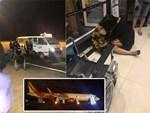 Hiện trường máy bay Vietjet gặp sự cố, hành khách nhảy cửa thoát hiểm-8