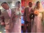 Đám cưới bá đạo, cô dâu chú rể bật bóng đá cùng quan khách cổ vũ hết mình cho đội tuyển Việt Nam-2