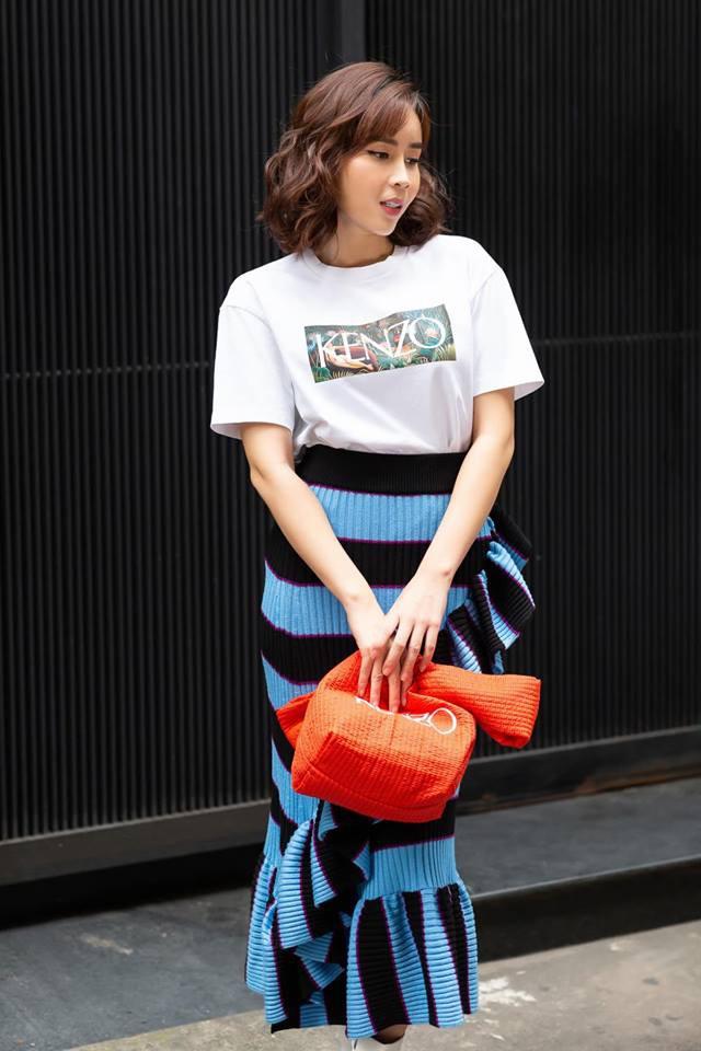 Street style sao: Diệp Lâm Anh vừa sinh xong đã vội diện đồ sexy, Hương Giang mặc kín đáo vẫn lộ dáng gầy nhẳng-9
