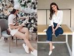Hoa hậu Hương Giang diện váy cắt xẻ táo bạo nhưng fan lại bức xúc vì một điều khác-11