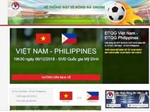 AFF Cup 2018: Vé bán online được chuyển qua đường bưu điện từ hôm nay (30/11)