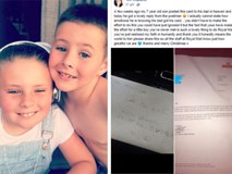 Hai lá thư cảm động nhất MXH hôm nay: Cậu bé gửi thư cho bố trên thiên đường và phản hồi bất ngờ của chú bưu tá