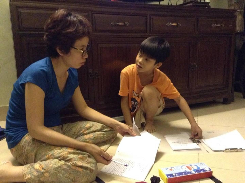 Mẹ còi Mai Anh: Trước khi ngủ, Thiện Nhân đều hôn mẹ từ tốn, nếu mẹ ho nó sẽ dậy vỗ lưng cho mẹ-6