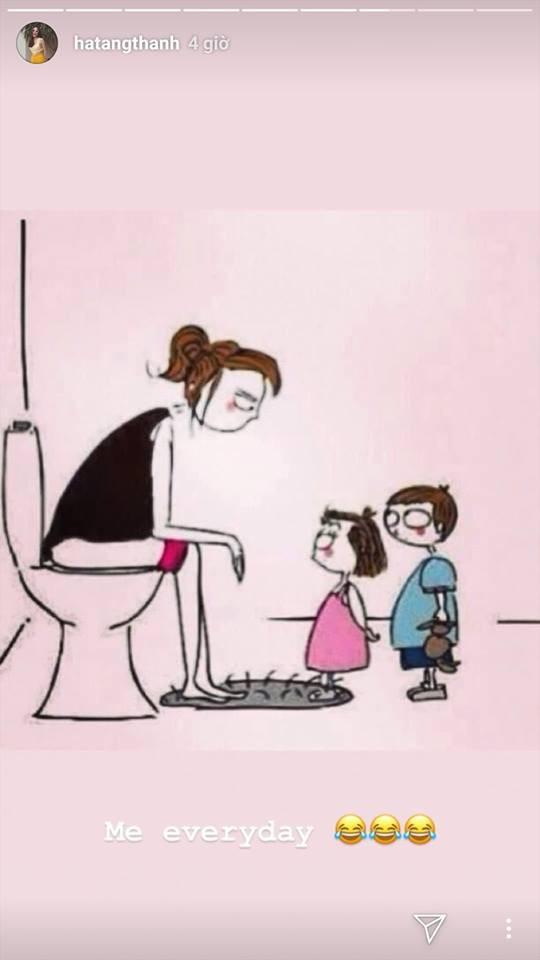 """Lần đầu tiên, Tăng Thanh Hà phô bày toàn bộ cuộc sống của bà mẹ bỉm sữa"""" với công chúng-9"""
