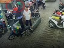 Thanh niên thản nhiên trộm thiết bị giao thông công cộng ở TP.HCM