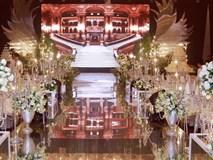 Cận cảnh không gian tiệc cưới lộng lẫy như cổ tích của Ưng Hoàng Phúc và Kim Cương
