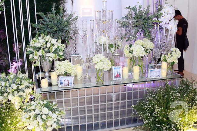 Cận cảnh không gian tiệc cưới lộng lẫy như cổ tích của Ưng Hoàng Phúc và Kim Cương-2