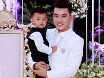 Con trai Ưng Hoàng Phúc - Kim Cương cực kỳ đáng yêu trong ngày cưới của bố mẹ