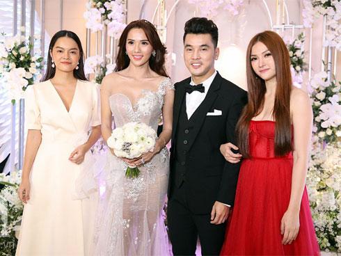 Trong đám cưới, Ưng Hoàng Phúc chúc Thu Thủy - Phạm Quỳnh Anh một câu khiến nhiều người xúc động-1