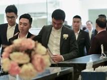 Hot: Chú rể đại gia 40 tuổi cúi gằm mặt khi đến đón Á hậu Thanh Tú về dinh trong lễ cưới sáng nay