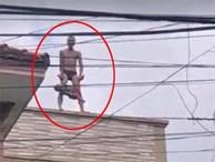 Khởi tố gã đàn ông 'ngáo đá' ném con từ mái nhà xuống đất tội giết người