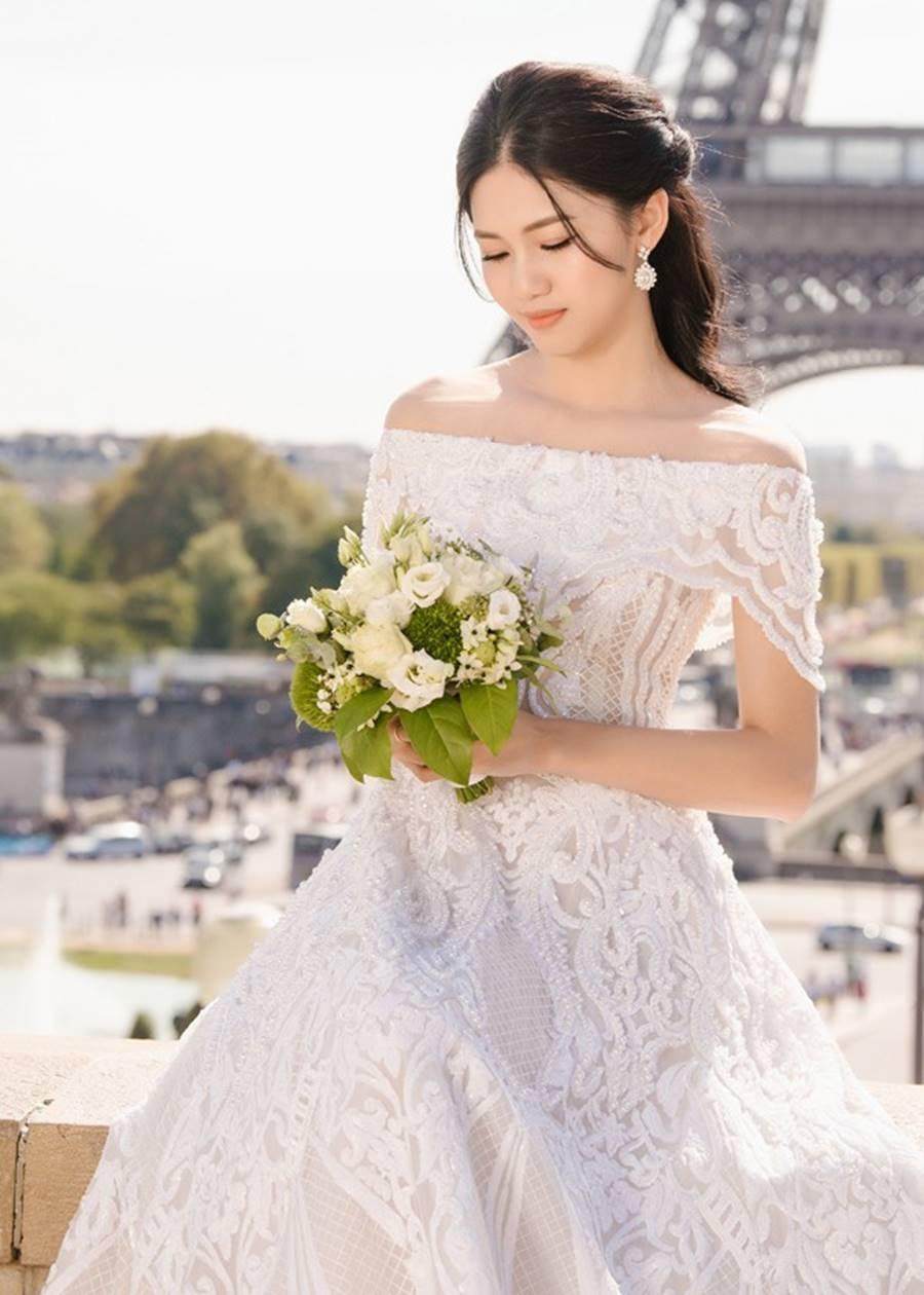 Trọn bộ ảnh cưới xa xỉ, đẹp như tạp chí được chụp tại Pháp của Á hậu Thanh Tú và chồng đại gia hơn 16 tuổi-5