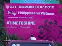 Ban tổ chức AFF Cup sai lầm, nhầm lẫn Việt Nam thành Singapore