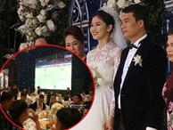 Bất ngờ: Nghi lễ đám cưới diễn ra nhanh gọn, Á hậu Thanh Tú nhường sân khấu cho bóng đá