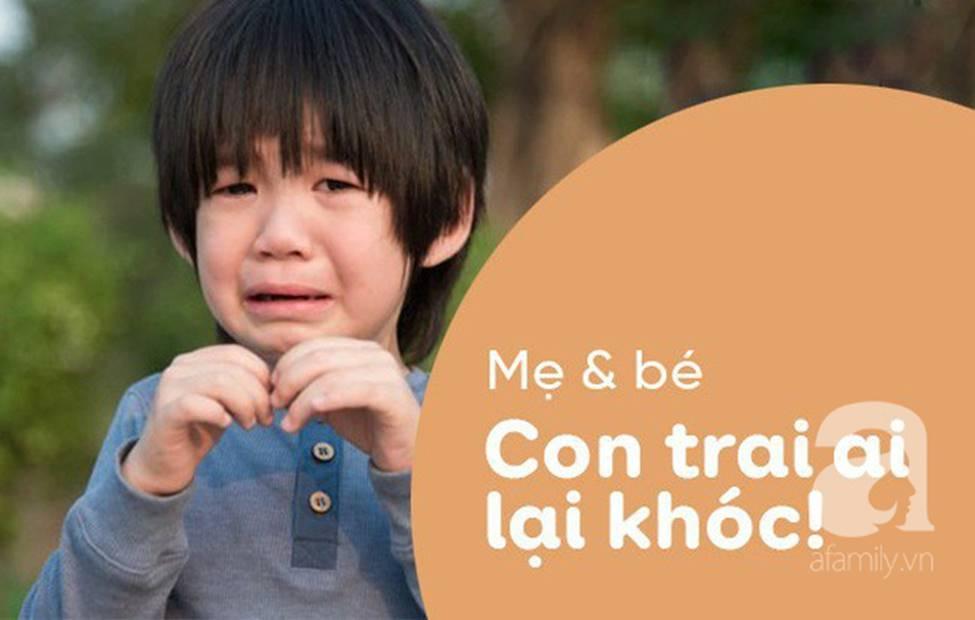 Dạy gì thì dạy, khi nuôi dạy con trai, bố mẹ cần tránh 3 câu nói này-3