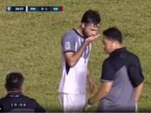 Giải mã viên thuốc bí ẩn cầu thủ Philippines uống ở trận bán kết trận gặp Việt Nam
