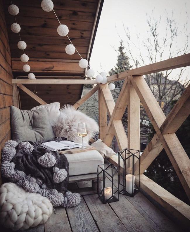 10 ý tưởng trang trí ban công dành riêng cho mùa đông chắc chắn sẽ khiến bạn thích-1
