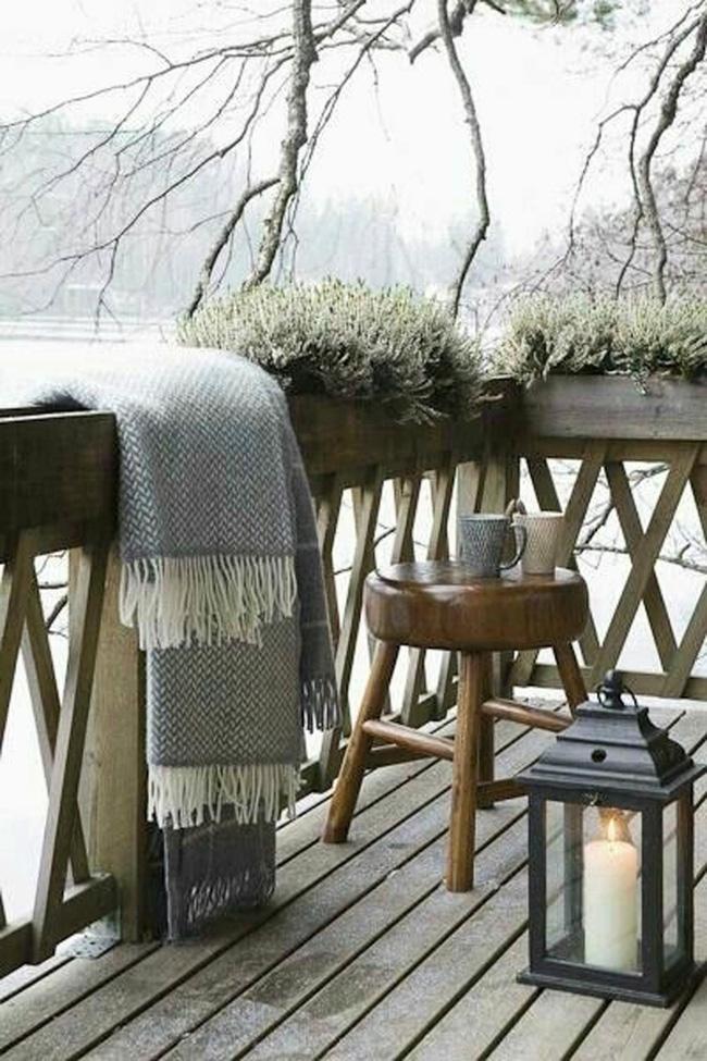 10 ý tưởng trang trí ban công dành riêng cho mùa đông chắc chắn sẽ khiến bạn thích-5