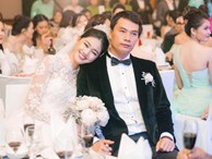 Chùm ảnh vừa tiết lộ: Á hậu Thanh Tú nũng nịu, tựa đầu đầy tình cảm vào vai chồng đại gia hơn 16 tuổi