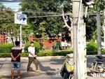 Vụ Phó chủ tịch HĐND phường bị bắn chết: Trước ngày xảy ra án mạng, nạn nhân và hung thủ cùng chơi bóng chuyền-2