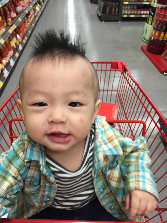Đã tìm ra cậu bé chất chơi nhất Việt Nam, 4 tuổi đã sở hữu hàng chục kiểu tóc có một không hai-12
