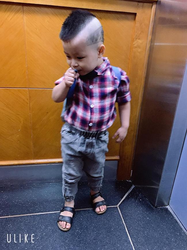 Đã tìm ra cậu bé chất chơi nhất Việt Nam, 4 tuổi đã sở hữu hàng chục kiểu tóc có một không hai-13