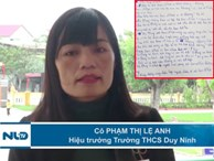 Nữ hiệu trưởng giải thích việc 'hỏi cung' học sinh vụ 231 cái tát