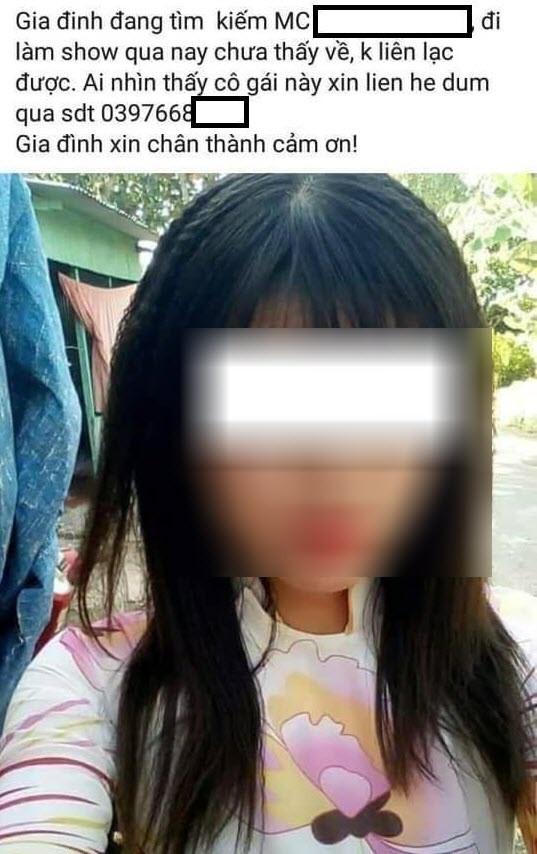 Nữ MC xinh đẹp ở An Giang nghi bị hiếp, giết khi trở về từ đám cưới-2